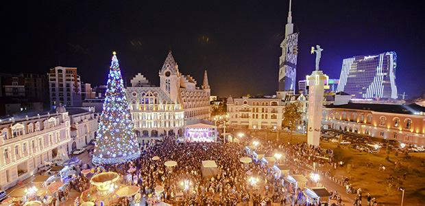 Christmas and New Year Eve in fairy Batumi